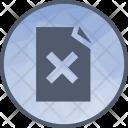Delete Cross Cancel Icon