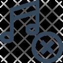 Delete Music Remove Icon