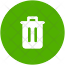 Delete Garbage Recycle Icon