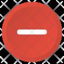 Delete Multimedia Minimize Icon