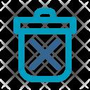 Delete Dustbin Waste Icon