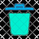 Trash Rubbish Bin Garbage Bin Icon