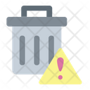 Delete Alert Delete File Notification Icon
