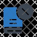 Delete Knowledge Content Icon