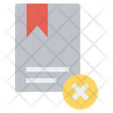 Delete Bookmark Icon
