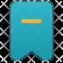 Delete Bookmark Remove Bookmark Bookmark Icon