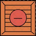Delete Crate Box Icon