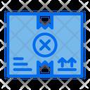 Delete Box Delete Package Box Icon