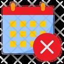 Delete Calendar Wrong Calendar Wrong Icon