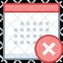 Delete Calendar Icon