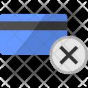 Delete Cancel Credit Icon