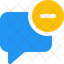 Delete Chat Message Icon