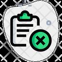Delete Clipboard Icon