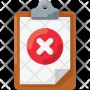 Block Delete Error Icon