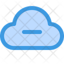Delete Cloud Delete Data Data Storage Icon
