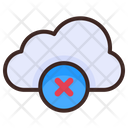 Delete Cloud Cloud Internet Icon