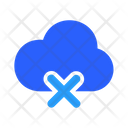 Delete Cloud Data Icon