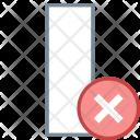 Delete cloumn Icon