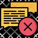 Comment Remove Delete Icon