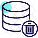 Delete Database Remove Bin Icon