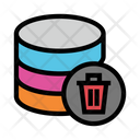Database Delete Trash Icon