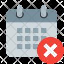Delete date Icon