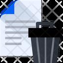 Delete Document Remove File Delete File Icon