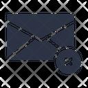 Delete Remove Email Icon