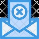 Delete Email Communication Icon