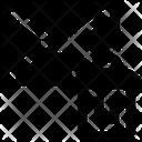 Dustbin Envelope Letter Icon
