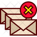 Delete Email Erase Icon