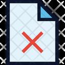 Delete F Ile Icon