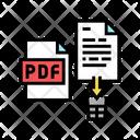 Delete Pdf File Icon