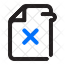 Delete File Delete File Icon