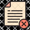 Delete File Icon