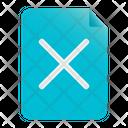 Delete File Delete Document Removed Icon