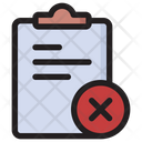 Delete File File Remove File Icon