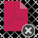 Delete File Close Icon
