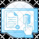 Delete Folder Remove File Archive Icon