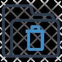 Delete Folder Archive Icon