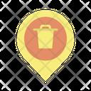Mtrash Location Delete Location Remove Location Icon