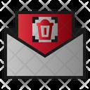 Mail Delete Remove Icon