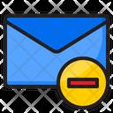 Delete Mail Delete Email Delete Icon