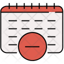 Delete meeting Icon