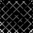 Message Cross Delete Icon
