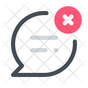 Message Delete Cancel Icon