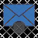 Cancel Delete Message Icon