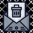 Delete Message Delete Email Trash Icon