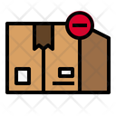 Delete Package Delivery Logistic Icon