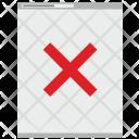 Delete Cancel Close Icon